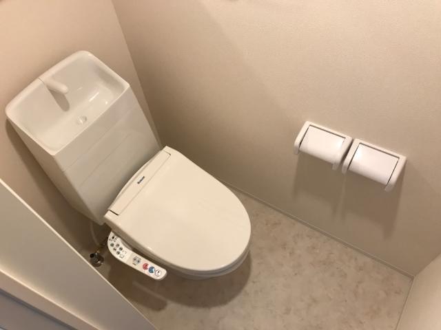 (仮称)千葉市中央区塩田町新築アパート 203号室の洗面所