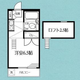 D-CASA横浜羽沢・203号室の間取り