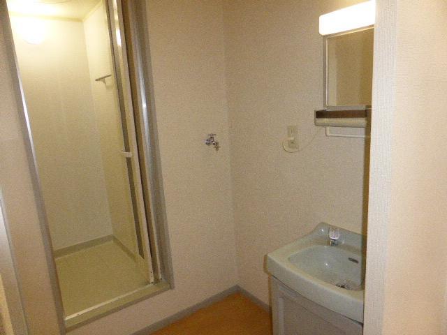 ナガシマハイツ A102号室の洗面所