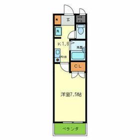 SOLO伊丹中央・904号室の間取り