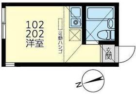 ユナイト田浦パルタージュ・102号室の間取り