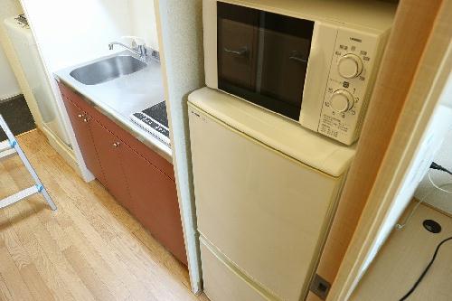 レオパレスキュプロス 104号室の風呂