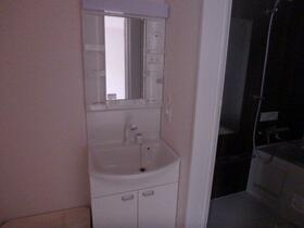 K RESIDENCE 302号室の洗面所