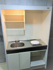 ハウスセリエ 202号室のキッチン