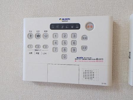 クレール 202号室のセキュリティ