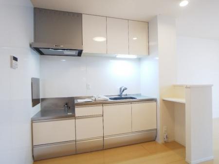 クレール 202号室のキッチン