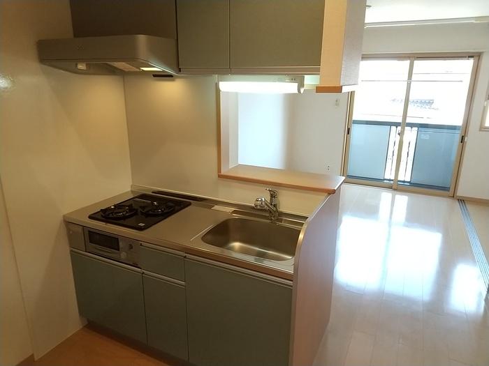カンパーレ A 202号室のキッチン
