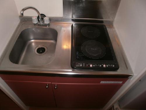 レオパレスWood Bell 106号室のキッチン