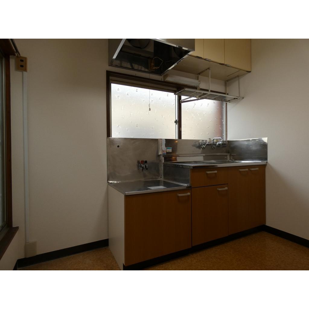 ルミエール ミキ 201号室のキッチン