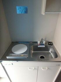 サークルハウス蒲田壱番館 103号室のキッチン