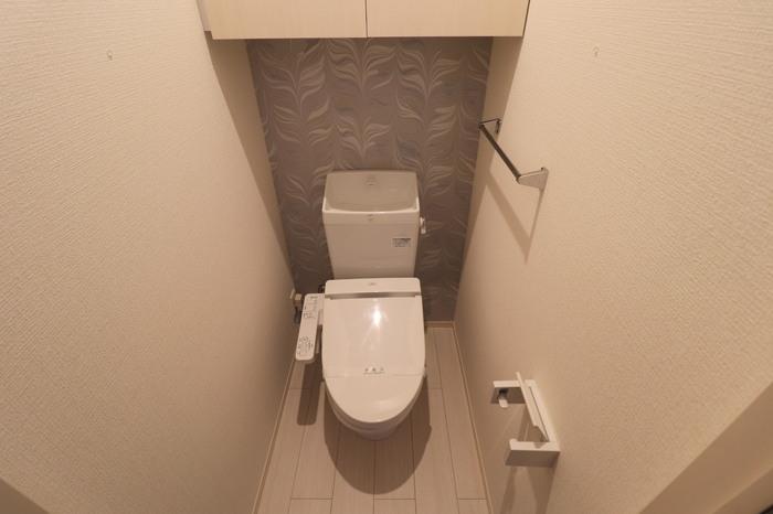 D-room南庄 弐番館 301号室のトイレ