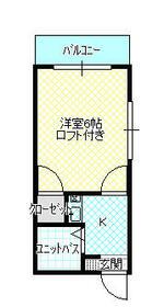 メゾンMIYAKO・102号室の間取り