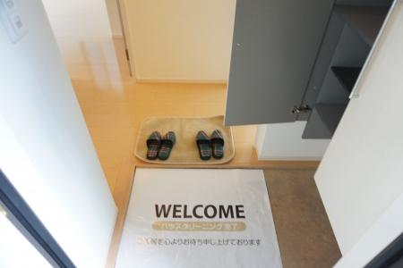 メゾン ヴェール 101号室の玄関