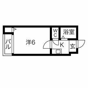 プレアール寝屋川高柳・103号室の間取り
