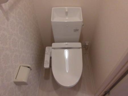 ミッドパレス市場町 II 203号室のトイレ