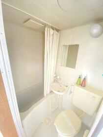 ゴールドハイツ・・・日当良好・・・ 202号室の風呂