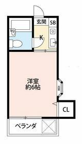 REA二俣川・101号室の間取り