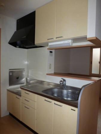 アドニス・フラット A/B B201号室のキッチン