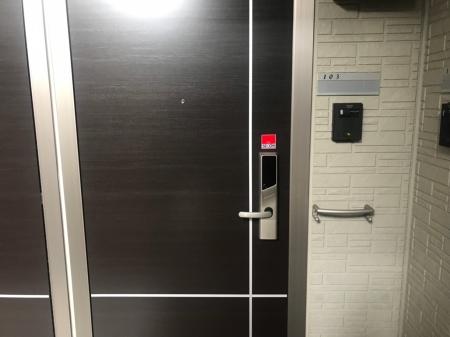ベルエア岐阜 103号室の玄関