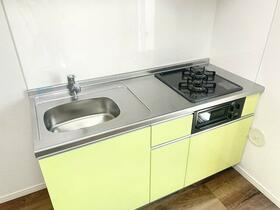オランジェテラスⅠ 201号室のキッチン