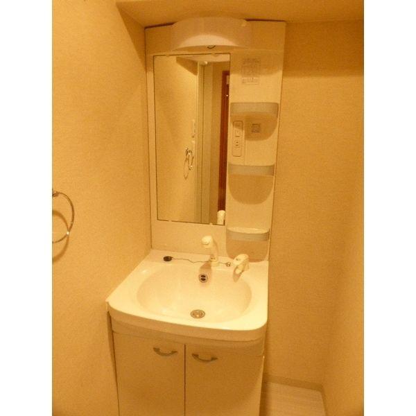 アジリア大濠ウェスト 301号室の洗面所