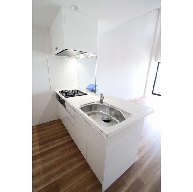 ザ・グローヴ浅草 0405号室のキッチン