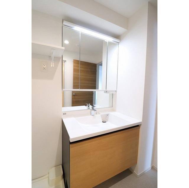 ザ・グローヴ浅草 0405号室の洗面所