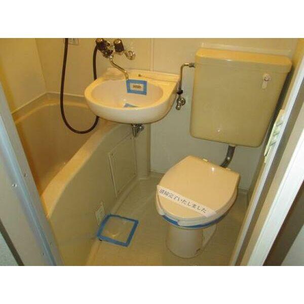 プレアール上新庄Ⅱ 402号室の風呂