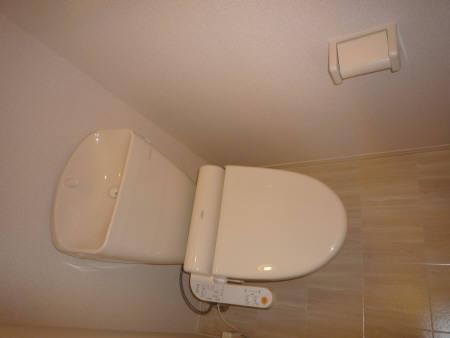 シャルマン C 002号室のトイレ