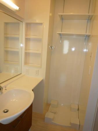 シャルマン C 002号室の洗面所