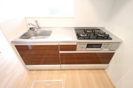 D-room地行 103号室のキッチン