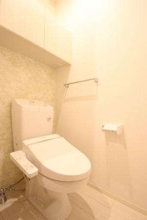 D-room地行 103号室のトイレ