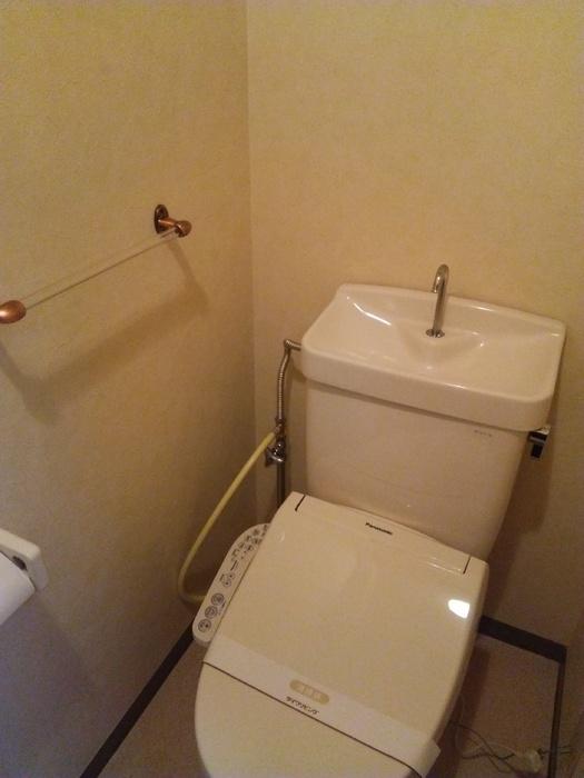 フローレンスMORITA 201号室のトイレ
