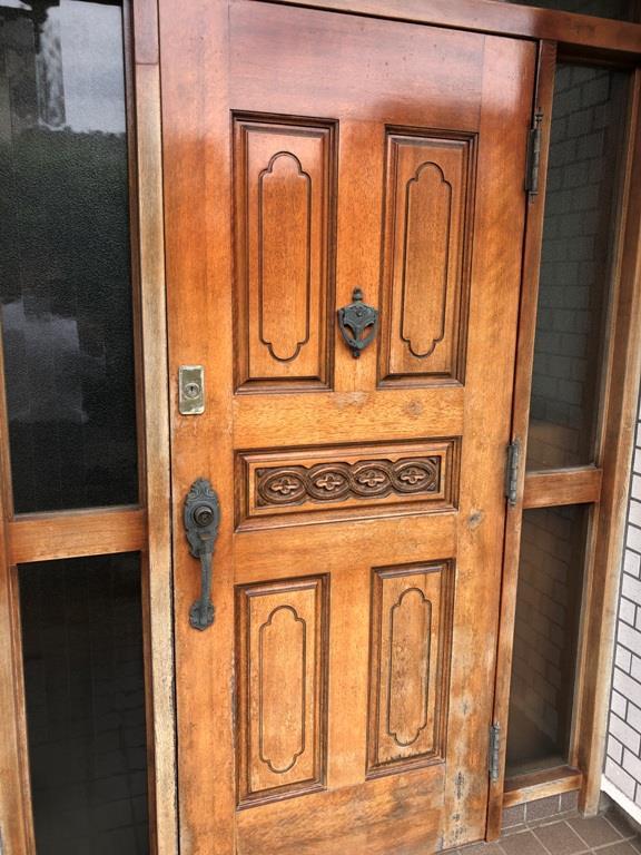 都賀の台戸建の玄関
