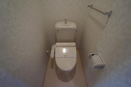グランシティソレーユII 207号室のトイレ