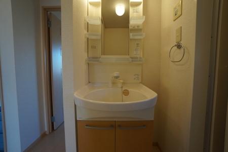 グランシティソレーユII 207号室の洗面所