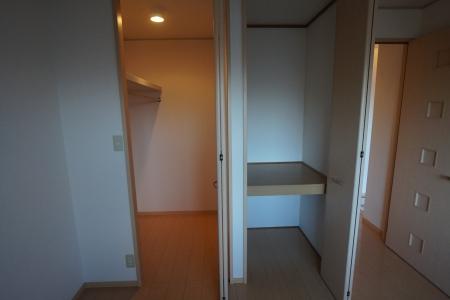 グランシティソレーユII 207号室の収納