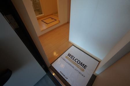 グランシティソレーユII 207号室の玄関