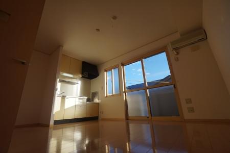 グランシティソレーユII 207号室のリビング