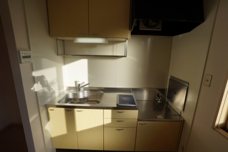 グランシティソレーユII 207号室のキッチン