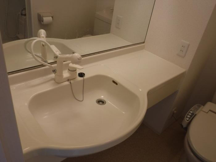 エテルナK・H 205号室の洗面所
