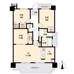 ステラートシティ桜山・0703号室の間取り