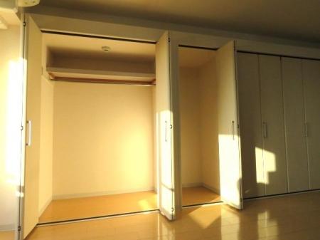 アクアライブラ 306号室の収納