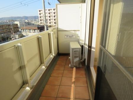 アクアライブラ 306号室のバルコニー