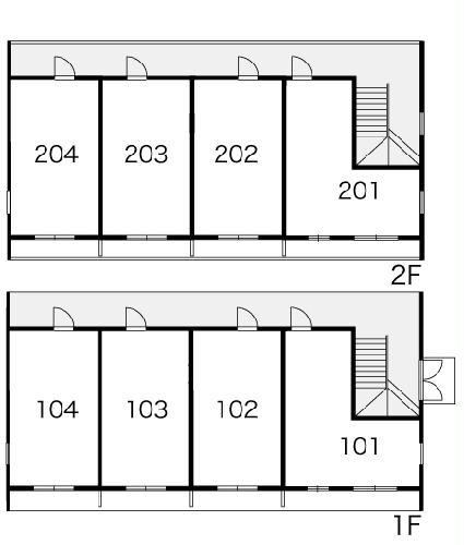 レオパレスサンライズ富岡 103号室のその他