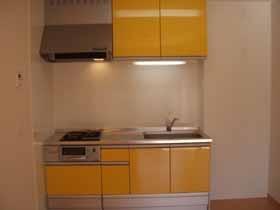 エーデルハイム ASAKAーB 105号室のキッチン