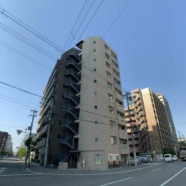 ベルグランデ新大阪・802号室の間取り