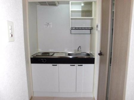 スマイルコート 105号室のキッチン
