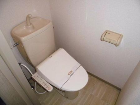 スマイルコート 105号室のトイレ