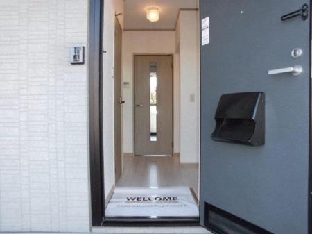 スマイルコート 105号室の玄関